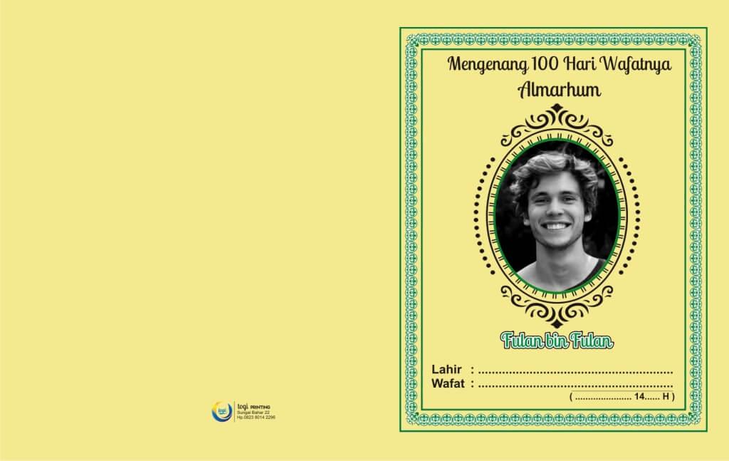 Cara Membuat Buku Yasin Sendiri Mulai Dari Desain Cover