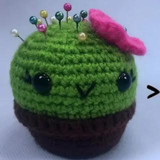 Amigurumi Cactus a Crochet