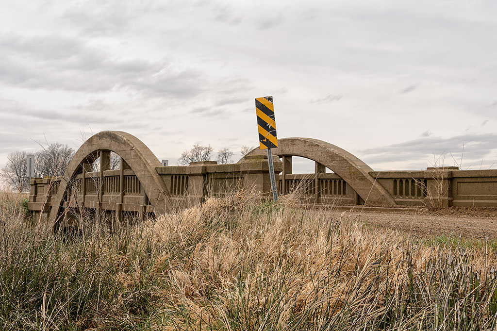 Marsh rainbow arch bridge on the Lincoln Highway