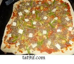 بيتزا بالبطبوط