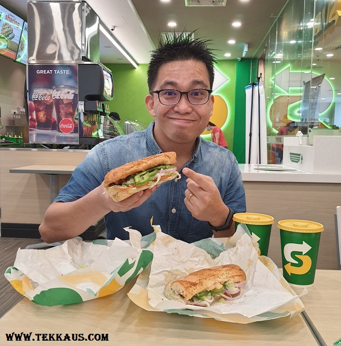 New Subway Spicy Mayo Chicken & Hot Pepper Chicken