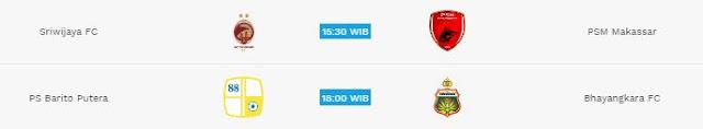 Jadwal Siaran Langsung Liga 1 Sabtu 28 April 2018