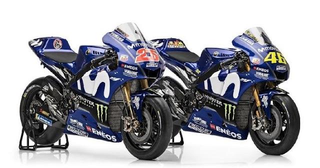 Yamaha R1 Rossi dan Vinales