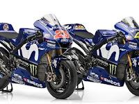 Mesin 1.000 cc bertenaga 240 Hp untuk Motor Rossi dan Vinales di MotoGP 2018