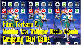 Cara Membuat Live Wallpaper Hero Mobile Legends Tanpa Aplikasi