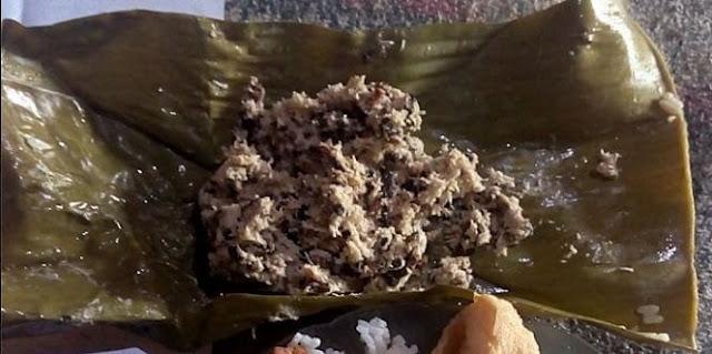 makanan botok tawon
