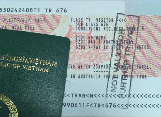 Làm visa Úc ở HCM