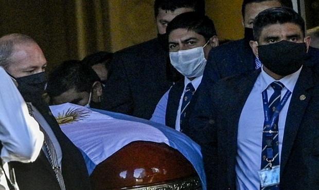Diego Maradona: Se inicia el traslado de sus restos hacia el cementerio