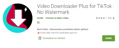 Video Downloader Plus for TikTok No Watermark