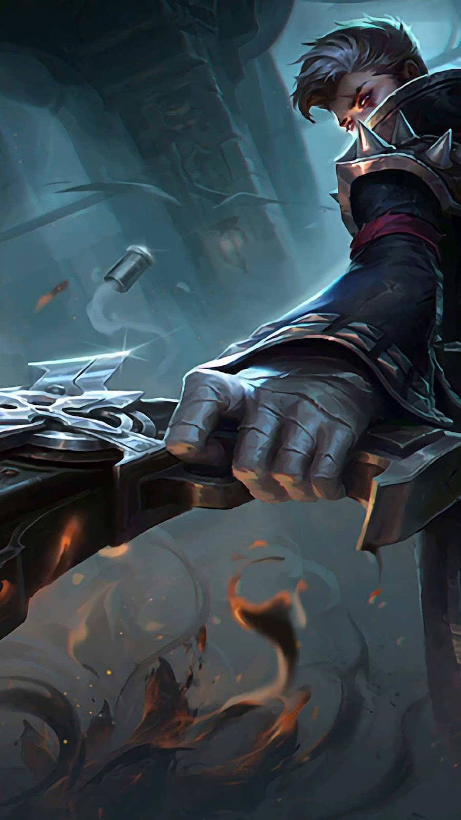 Wallpaper Granger Death Singer Skin Mobile Legends HD for Android and iOS