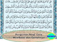 Pengertian Naql, Cara Membaca, dan Contohnya