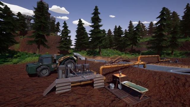 Hydroneer Free Download PC Game Cracked in Direct Link and Torrent. Hydroneer is a mining and base building sandbox. Dig for gold and other resources to turn a profit and enhance your mining operation. Build a base of operations, forge weapons, go…