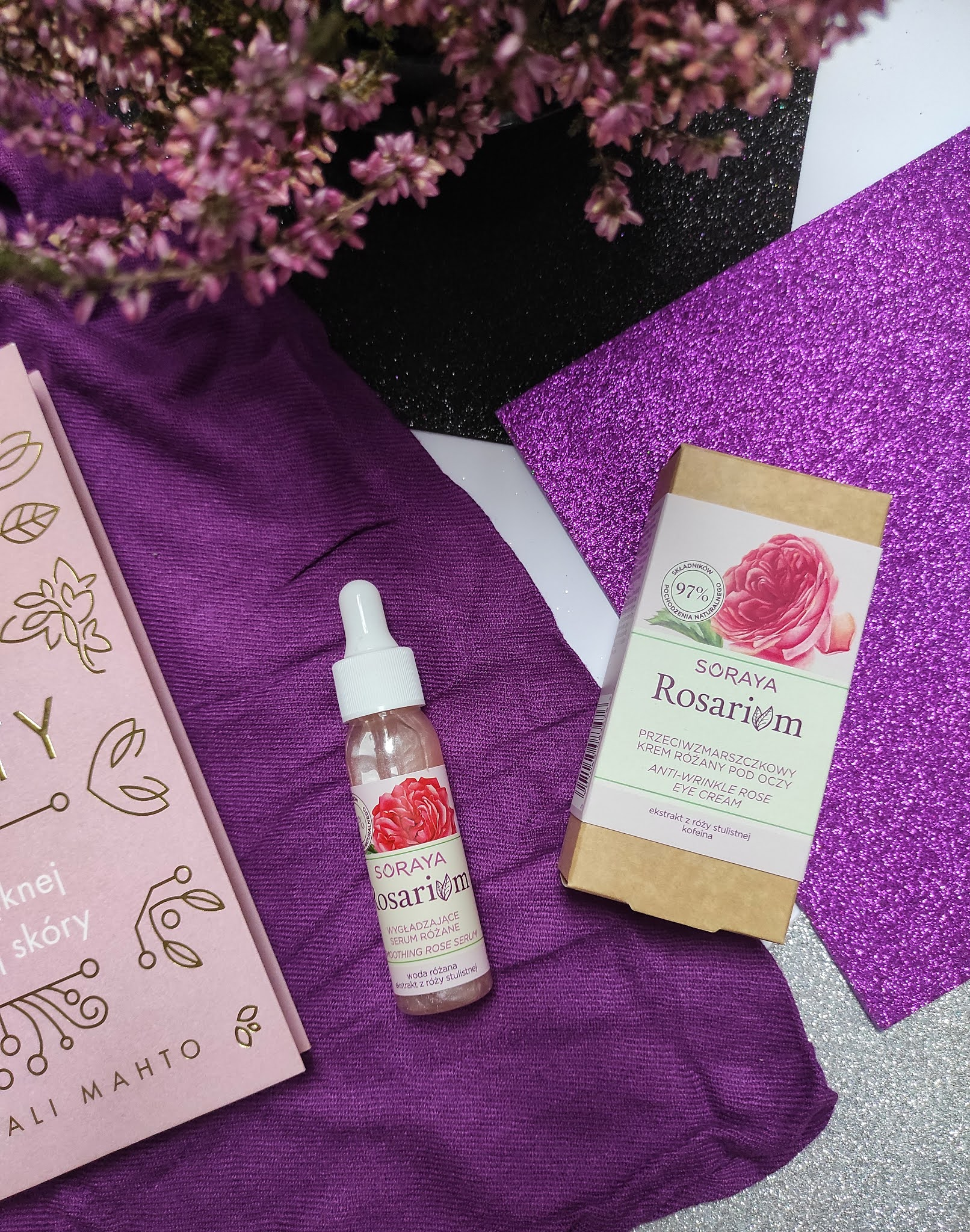 Wygładzające serum różane Soraya Rosarium