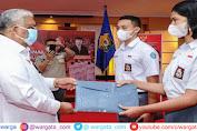Gubernur Lepas Anggota Paskibraka Nasional Utusan Sulawesi Tenggara