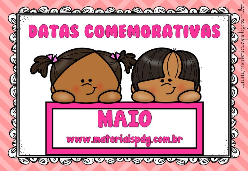 DATAS COMEMORATIVAS - MAIO