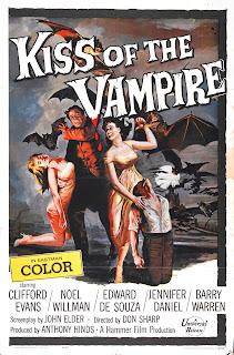 Kiss of the Vampire - Hammer