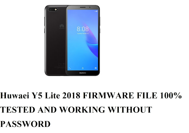 Huawei Y5 Lite 2018 CAG-L23 Stock Flash Rom Firmware File 100% Tested without Password