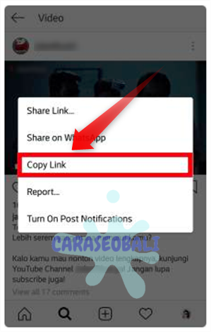 cara download video di ig dengan aplikasi