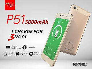 Itel P51 MaxPower Review With Specs, Features And Price