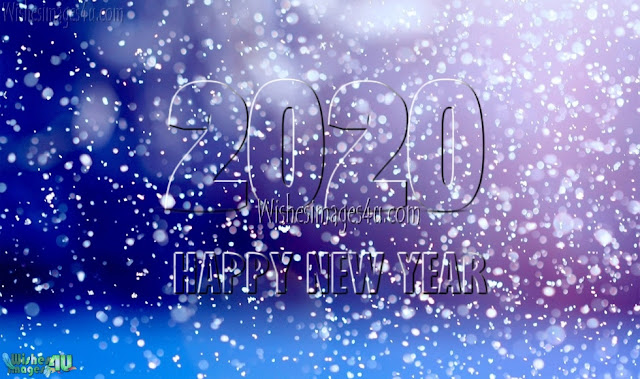 New Year 2020 HD Pictures With Sparkling Background