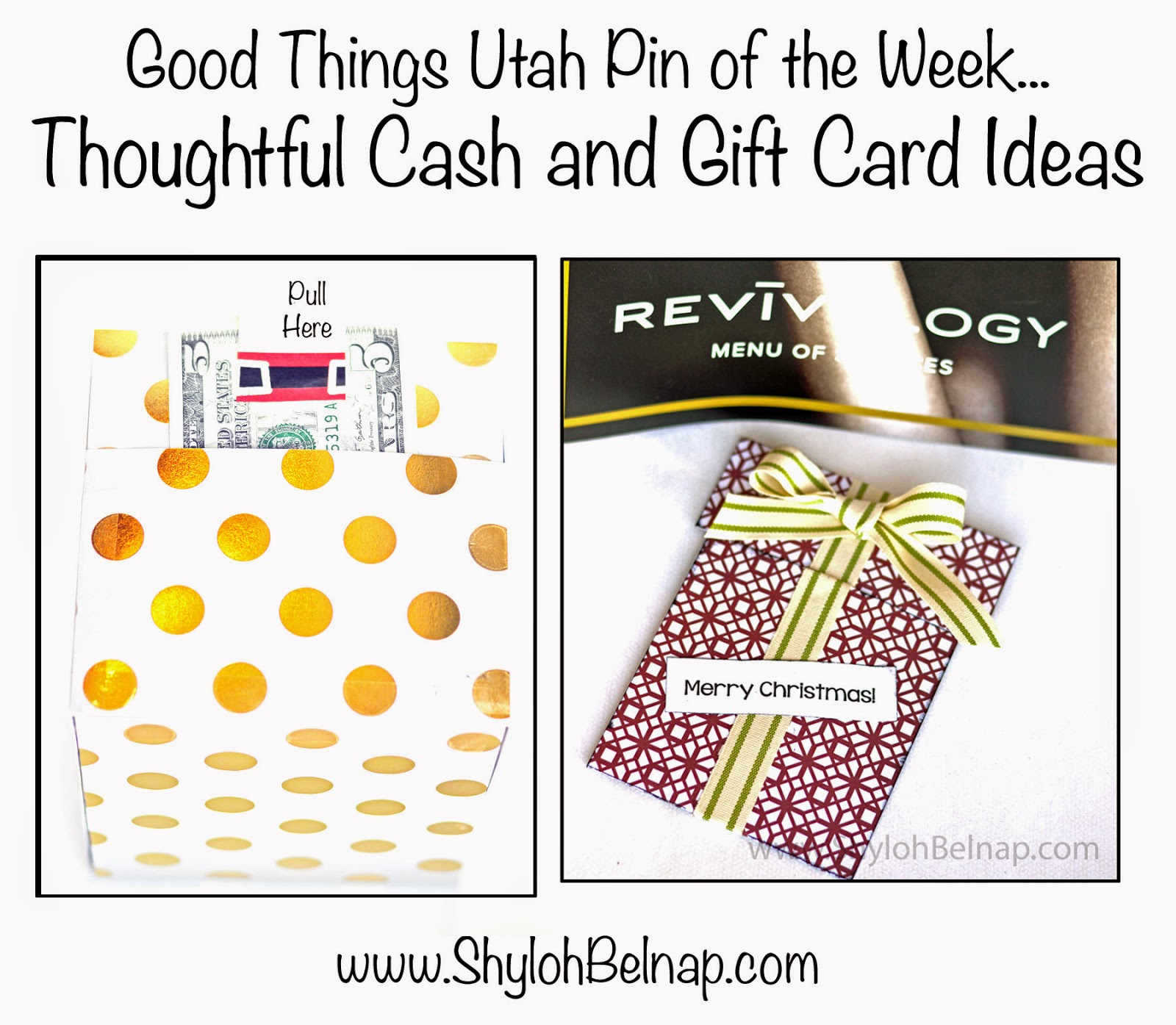 Shyloh Belnap: Thoughtful Cash and Gift Card Ideas