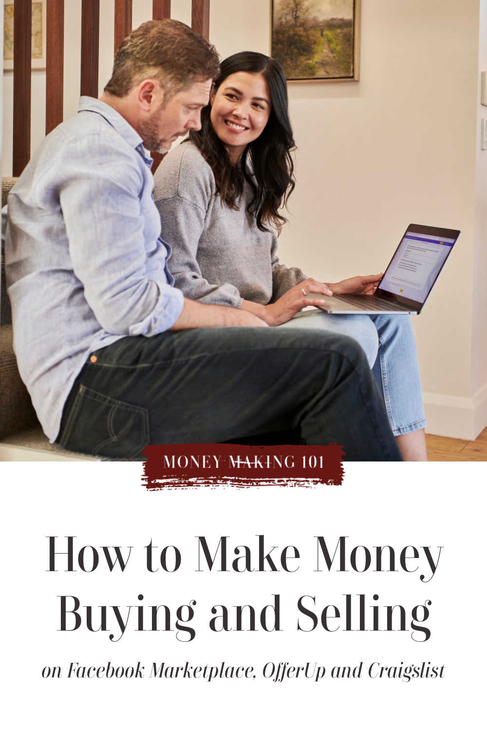 how to buy and sell and make money on secondhand sites