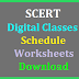 TS SCERT T-SAT/ DD Digital Classes Schedule Video Links and Work Sheets Download