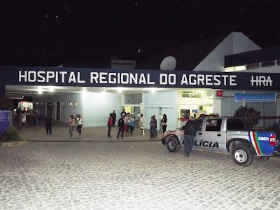 Resultado de imagem para HOSPITAL REGIONAL DO AGRESTE