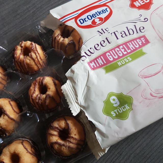 Dr. Oetker My Sweet Table Mini Gugelhupf Nuss