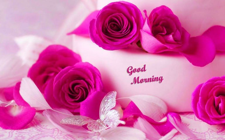Romantic Good Morning Flowers for Wife