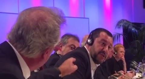 Keményen egymásnak ugrott Matteo Salvini és a bevándorláspráti, magyargyűlölő luxemburgi külgyminiszter