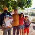 Agricultores de Montes Claros (MG) recebem doação de cestas básicas