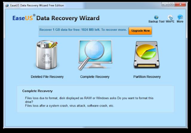 Come ripristinare velocemente dati eliminati dal tuo PC con EaseUS Data Recovery Wizard.