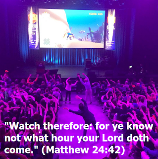 Matthew 24:42 watch therefore for ye know not what hour your Lord doth come