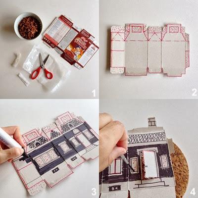 Halloween decorazioni fai da te riciclo creativo scatole for Fai da te decorazioni casa