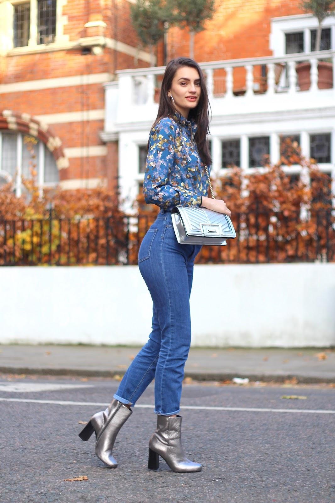 peexo fashion blogger street style metallics silver