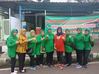 Persit Kodim 0607 Kota Sukabumi ini dengan Warung Barokah yang dikelolanya