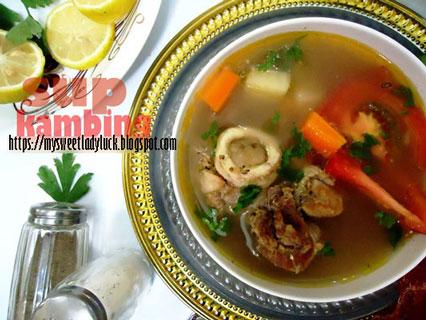 soup kambing
