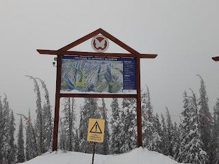 Monarch Mountain ski map