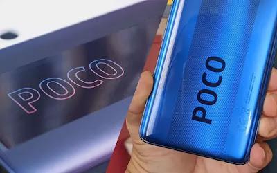Desain logo Poco  yang berbeda