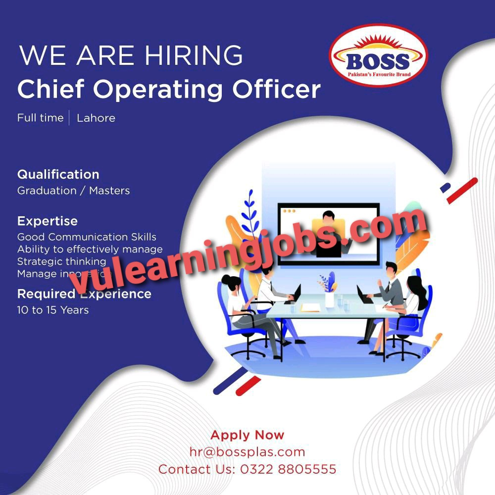 Boss Moulded Furniture Jobs 2021 Latest   Apply Now