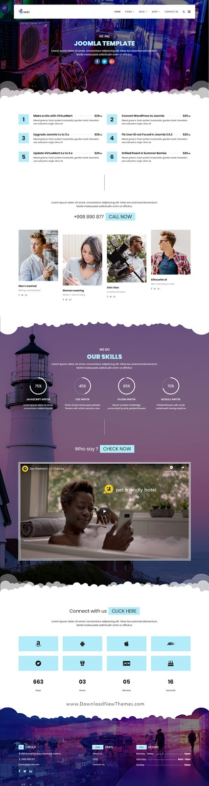 Responsive Business Agency Joomla Template