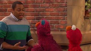 Telly, Elmo, Chris, Sesame Street Episode 4405 Simon Says season 44