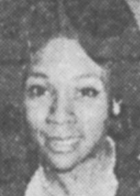 News clipping headshot of a smiling young Black woman