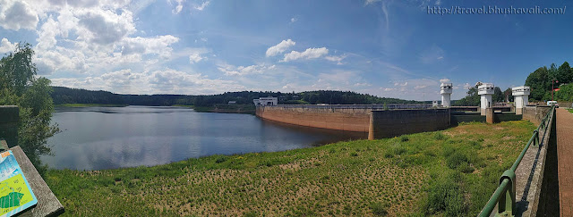 Lac d'Eupen and Wesertalsperre Dam