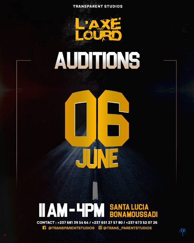 TRANSPARENT STUDIOS Announce The Auditions For Their Maiden Movie Project 'L'AXE LOURD'