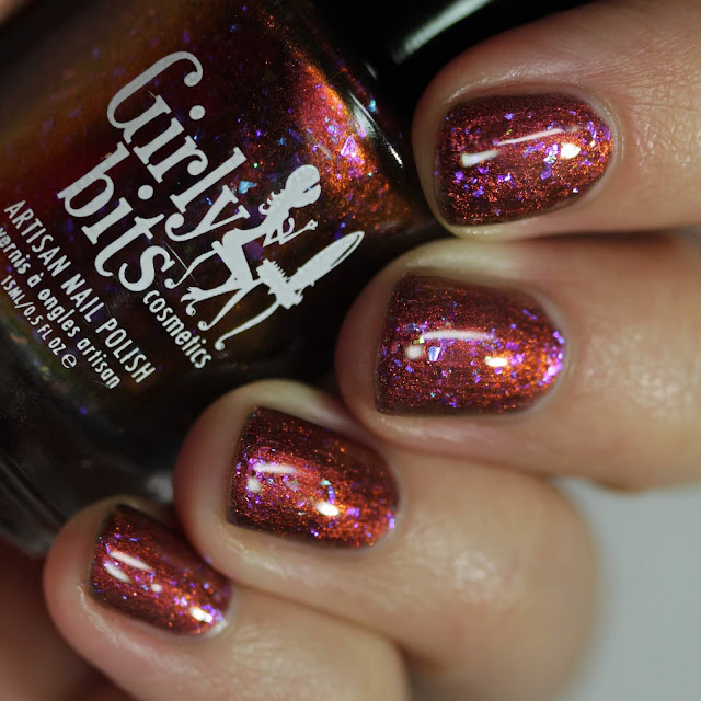 Girly Bits Pumpkin Sumthin' swatch by Streets Ahead Style