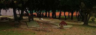 Mini Golf at the Resort Horizont & Splendid in Pula, Croatia