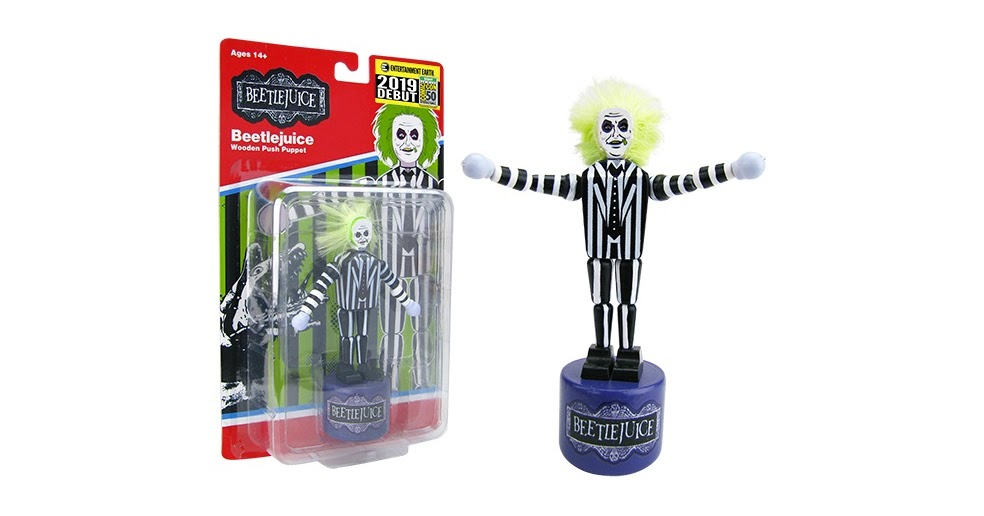 b5b5704fa The Blot Says...: SDCC 2019 Exclusive Beetlejuice Wood Push Puppet ...