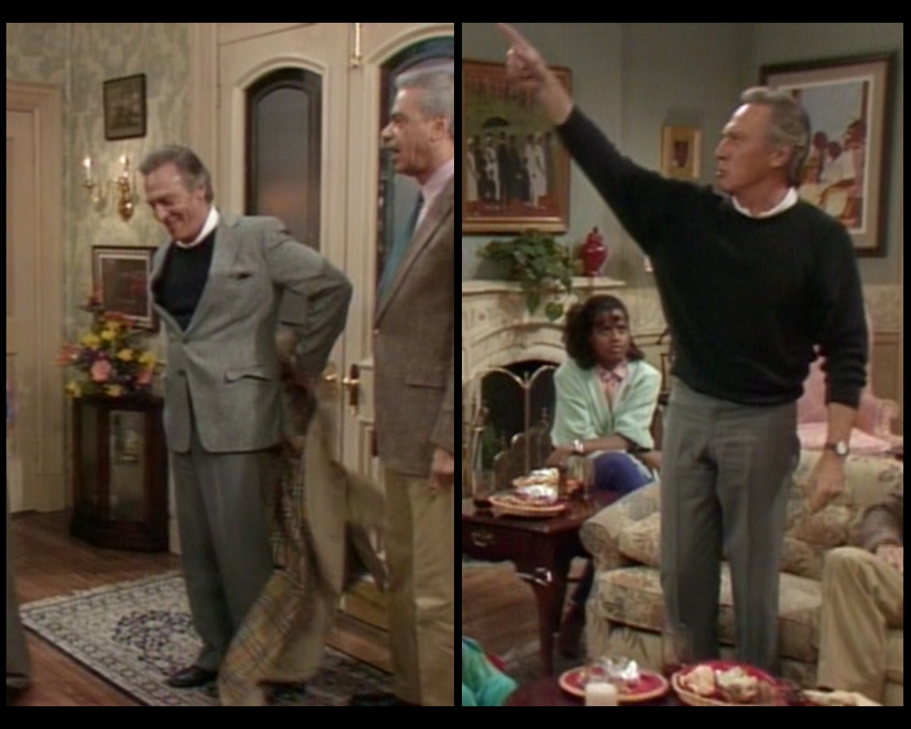 cosby show living room huxtable hotness season 4 episode 5 shakespeare 16690